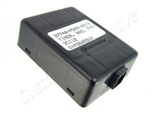 01-04 ACURA MDX HONDA PILOT RADIATOR FAN TIMER 37740PGKA01 cooling fan module