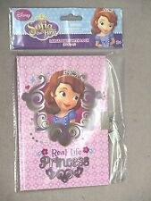 SOFIA THE FIRST LARGE DIARY WITH LOCK STOCKING STUFFER GIFT NWT SUPER CUTE!!!