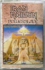 IRON MAIDEN POWERSLAVE CASSETTE TAPE MC K7 EMI 1984 Musicassetta Heavy Metal