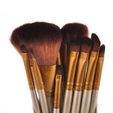 12Pcs Professionelle Powder Foundation Blusher Make up Pinsel Kabuki Pinsel Set