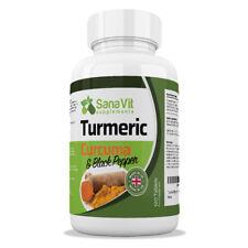 120 Comprimés de Curcuma et de Poivre Noir BioPerine Anti-Inflammatoire 700mg