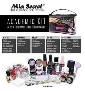 Kit Academic Acrilico Mia Secret