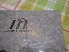"""Rotary Engravable Sheet IPI Plastic Marbelized Platinum w/white 12""""x12"""" 1/16"""""""