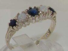 Sapphire Silver Vintage Fine Rings