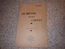 1937.les bretones delante la impot.Bretagne.Jean Choleau