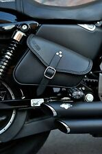 SADDLEBAG RIGHT SIDE FOR HARLEY DAVIDSON SPORTSTER IRON, 48, 72 - ENDS CUOIO