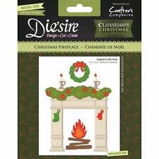 Crafter's Companion Die'sire Classique Christmas Collection CHRISTMAS FIREPLACE