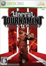 Used Xbox 360 Unreal Tournament III  MICROSOFT JAPAN JP JAPANESE JAPONAIS IMPORT