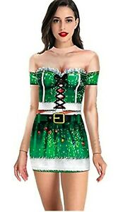 Christmas Novelty Fancy Dress - Colorful & Fashionable Bodycon Festive Outfit