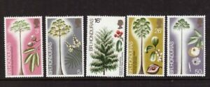 British Honduras 1972 Trees/Nature set MNH mint stamps