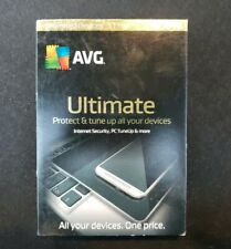 AVG ULTIMATE Unlimited Devices 1 Year Apple Android PC Windows Free WEB Delivery