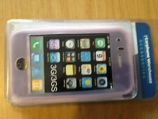 Brand NEW ROSA MORBIDA IN SILICONE GEL GOMMA CUSTODIA COVER PELLE PER IPHONE 3G 3GS