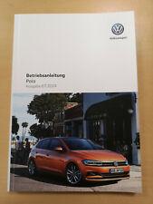 VW POLO 2019 2020 Bedienungsanleitung Betriebsanleitung (Ausgabe 07.2019) *NEU*