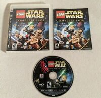 LEGO Star Wars: The Complete Saga (Sony PlayStation 3, 2007) Complete & Tested