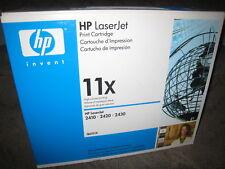 HP Q6511X Black Toner Cartridge OEM Genuine NEW 11X LaserJet 2410 2420 2430