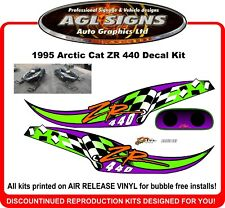 1995 Arctic Cat ZR 440 Reproduction Decal Set    graphics sticker