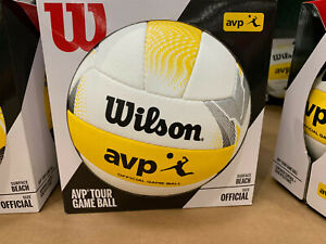 Wilson AVP II Official Beach Volleyball Outdoor Volleyball, New
