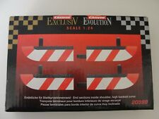 CARRERA END SECTIONS INSIDE SHOULDER  HIGH BANKED CURVE  20599 1.24 SCALE BNIB