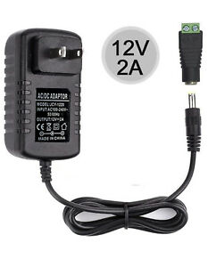 VeeDoo Universal 12V DC Power Adapter 12 Volt LED Strip Lights Power Supply