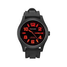 Mens Black Sport Watch Waterproof Oversized Big Dial Large Face Reloj de Hombres