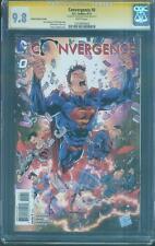 Superman Convergence 0 CGC SS 9.8 vs Batman Justice League Top 1 Daniel Variant