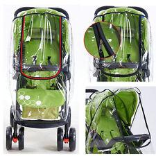 Rain Cover Raincover For Universal Buggy Pushchair Stroller Pram Baby Car Larger