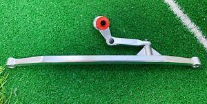 VITAVON CNC Alu#7075 steeri links + 25T saver for LOSI LMT Grave Digger1/10 sil