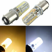 1/4/10x 1157 BAY15D 72 SMD LED Marine Silicone Vessel Boat Light Lamp Bulb White