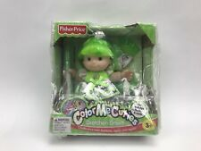 Fisherprice Color Me Cuties Gretchen Green Doll