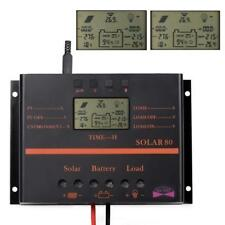 Sun-Yoba - 80A-PV-Solar 80 Panel Battery Charge Controller Regulator USB 12-24V