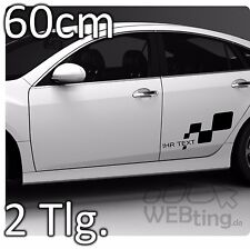 60cm Seitenaufkleber Racing Carstyling Autotattoo Aufkleber Renault Sport 4
