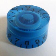 POP-KNOB guitar speed knob in MIDNIGHT BLUE , fits gibson / epiphone