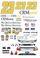 #23 Crmone Terry Labonte 2011 1/32nd Scale Slot Car Waterslide Decals