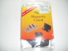 RV - Magnetic Catch w/ 2 Plates - Great for Screen Door Holds to Exterior Door