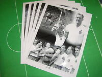 5 x Bolton Wanderers Nat Lofthouse Signed Photographic Montages incl 1958 FA Cup