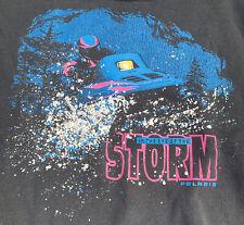 New listing Vintage Polaris Crewneck Sweatshirt 90's Snowmobile Eye Of The Storm Large