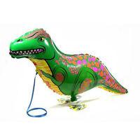 Stylish 2Pcs 40x85cm Dinosaur Balloon Kids Birthday Wedding Party Decor Gifts
