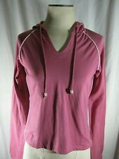 NWT THE NORTH FACE WOMENS SMALL PETITES   AKIRA HOODIE FRAPPE PINK SWEATSHIRT