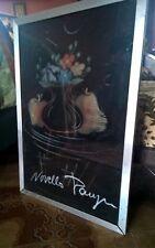NOVELLA PARIGINI opera d' arte originale quadro dipinto a gessetti  fiori