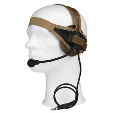Z-TACTICAL Swimmer Headset MILITARY CUFFIE COMUNICAZIONE FG AIRSOFT SOFTAIR