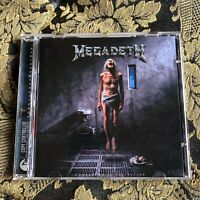 MEGADETH cd COUNTDOWN TO EXTINCTION  Remastered Remixed + bonus tracks Metallica