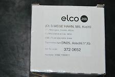 "ELCO 3720652 3-WEGE HAHN MS KVS 10 DN25 1"" IG ESBE 10620211 THREE WAY VALVE NEU"
