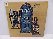 Spandauer Kantorei  Josquin Des Pres & Pierre De La Rue Turnabout VOX Vinyl LP