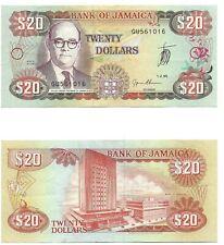 International Paper Note -1989 - Jamaica - $20 - Uncirculated