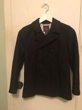 Brooks Brothers Navy Boys Wool Pea Coat - Size (Medium 9-12) Preppy Retails $198