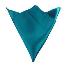 50×Satin Table Napkin Wedding Napkins Pocket Handkerchief Wedding Party Supply