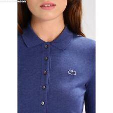 32cc0deb6b Polo Lacoste Femme slim fit Ancre Chine (ACC ) Taille 38 Manches courtes