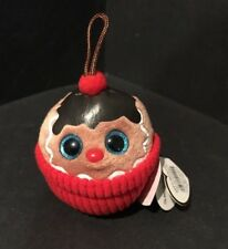Ty Holiday Baby - Coco the Gingerbread Sundae (2014) (2.5 inch) - Mwmt's