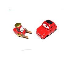 Disney Pixar Movie Cars Diecast Red Luigi & Guido Toy Car Set
