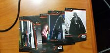 2019 SDCC EXCLUSIVE TOPPS STAR WARS POWER OF DARK SIDE 25 CARD BASE SET VADER